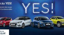 Hyundai YES Sondermodelle 2019