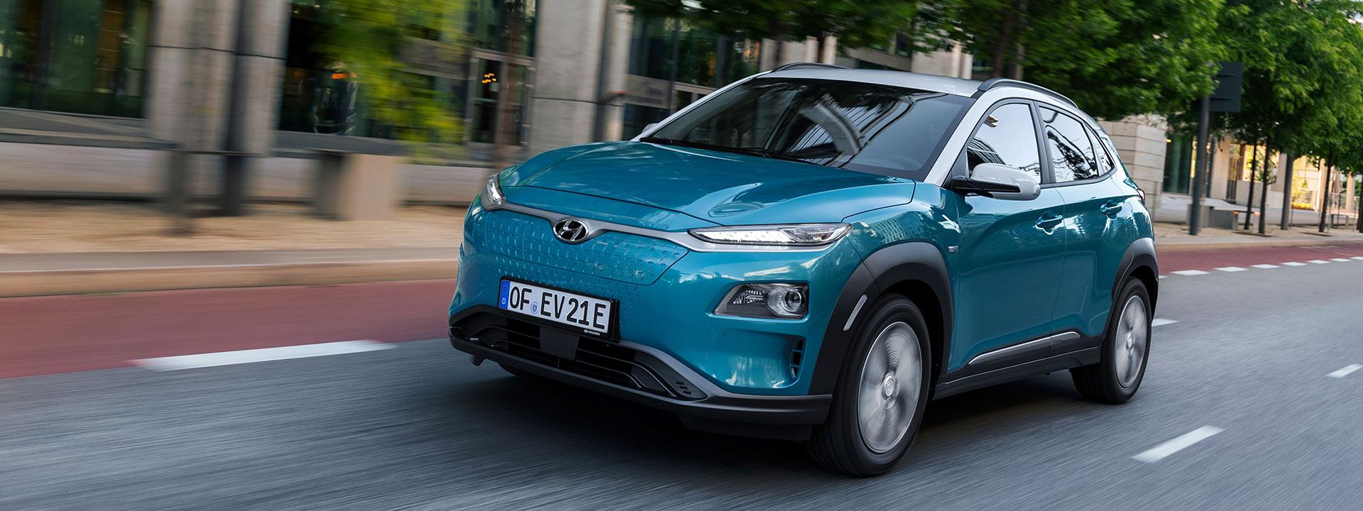 Hyundai Kona Elektro 8 Jahre Garantie
