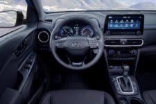 Hyundai Kona Hybrid 2020 Display