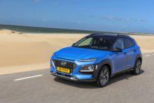 Hyundai Kona Hybrid 2020 Front