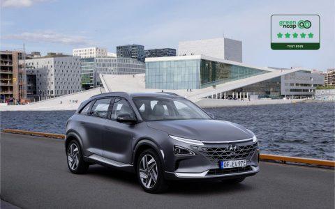 Hyundai NEXO fünf Sterne
