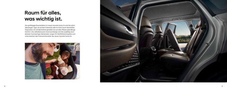 Hyundai Santa Fe innen