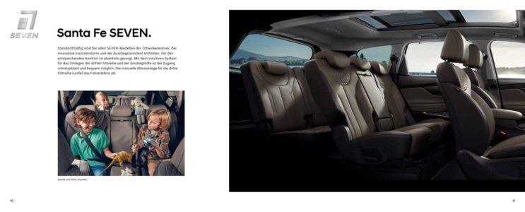 Hyundai Santa Fe 7 sitzer