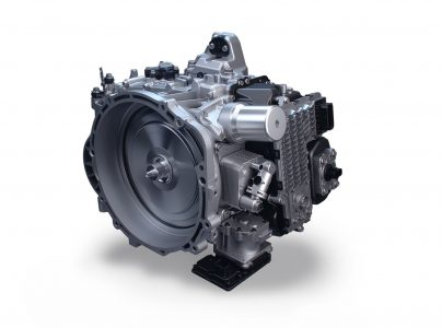Neu entwickeltes Achtgang-Doppelkupplungsgetriebe (8DCT)
