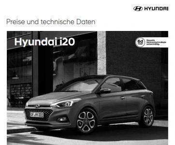 Hyundai i20 Preise PDF