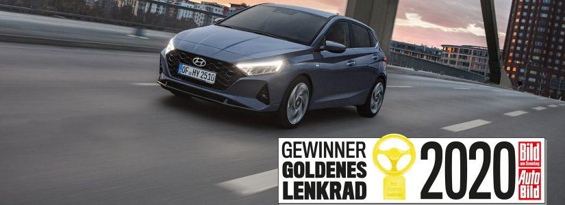 Hyundai i20 gewinnt Goldenes Lenkrad 2020