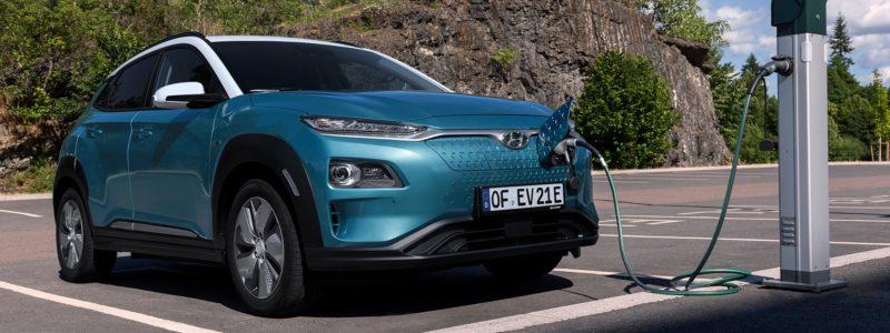 Hyundai Kona Elektro Reichweite