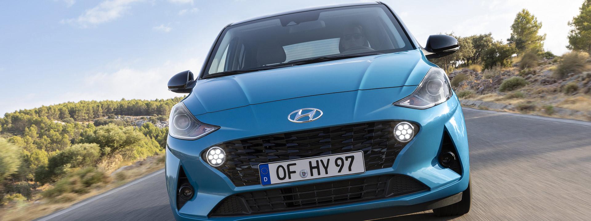 Hyundai i10 Sieger Vergleichstest